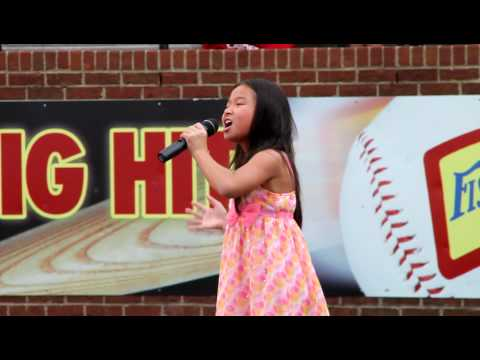 Star Spangled Banner / National Anthem - Vanderbilt Stadium by 8yo Dominique Baseball 2011