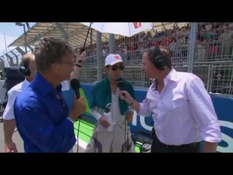 Kamui Kobayashi interview before the race - European GP 2010