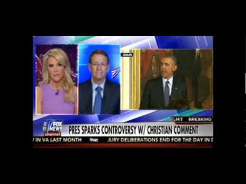 Megyn Kelly Accuses Obama Of Sending Anti-Christian Messages To Our Enemies