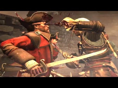 Assassins Creed 4 Gameplay Pirate Heist Trailer 【HD】