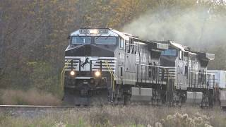 Norfolk Southern Train Smoking Horn Salute