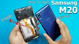 How to Open Samsung Galaxy M20 Back Panel || Samsung Galaxy M20 Disassembly / Teardown