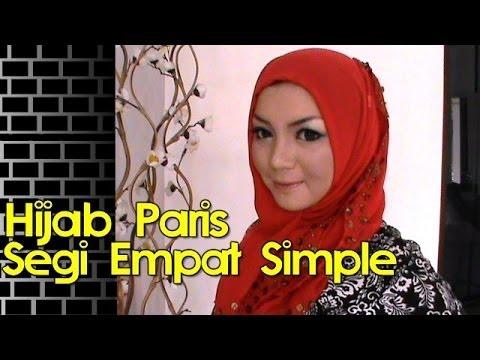 Cara Memakai Jilbab Modern Segi Empat Simple Cara Memakai Jilbab Segi Empat