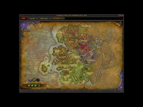 Where is Gloaming Reef WoW Explore Val'Sharah Legion