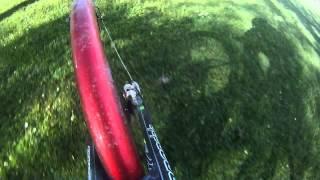 SKS Bluemels mudguard flexing when riding across lawn