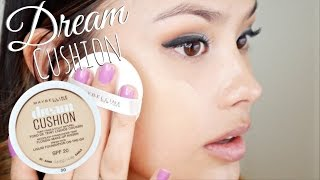 NEW Maybelline Dream Cushion Liquid Foundation First Impressions | Drugstore Cushion Compact Review