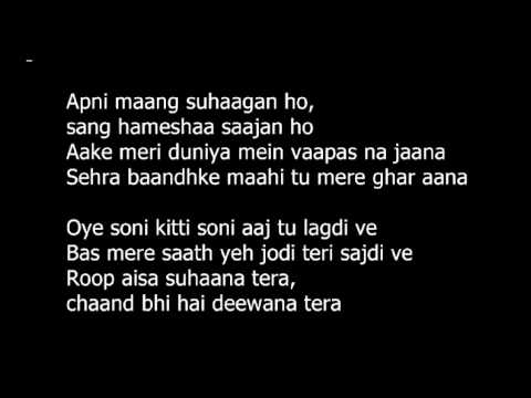 lyrics kabhi khushi kabhi gham - bole chudiyan ( Editing By...