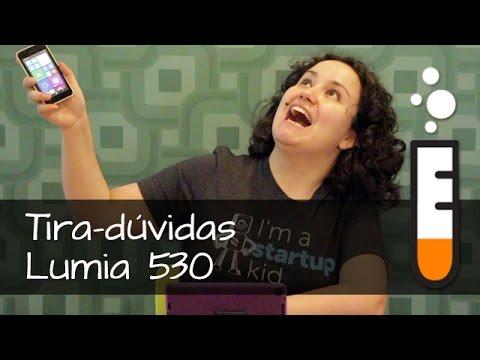 Lumia 530 Nokia Smartphone - Vídeo Perguntas e respostas Brasil