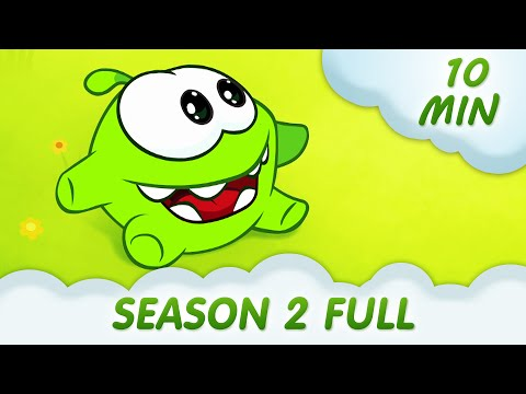 Om Nom Stories - Season 2 Compilation - Cut the ROPE @KEDOO ANIMATIONS 4 KIDS