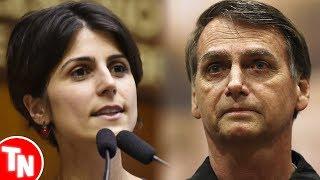 Manuela d'Ávila posta música anti-Bolsonaro e vira alvo de piadas no Twitter