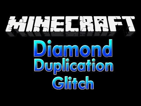Minecraft 1.8   Diamond Duplication Glitch
