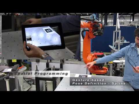 Intuitive Programming of Industrial Robots through Gestures and Augmented Reality