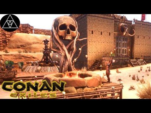 Conan Exiles #73 [deutsch] ► Funcom kündigt Zähm-Mechanik für Tiere an! Neue Thralls testen!