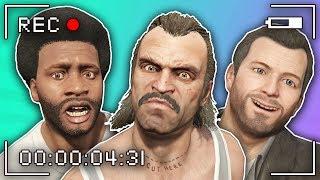 GTA 5 | Trevor, Michael and Franklin MAKE A MOVIE