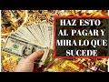 HAZ ESTO AL PAGAR Y NUNCA TE FALTARA EL DINERO mp3
