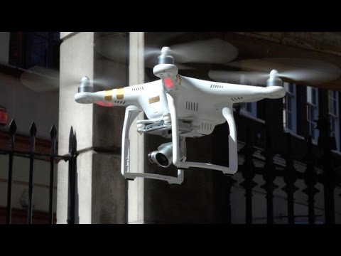 Check out the 4K, live-streaming DJI Phantom 3 drone