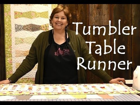 Tumbler Table Runner - Easy Quilting Projects