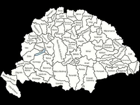 Nagy Magyarország térképe