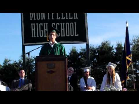 Montpelier High School Senior Speaker Address 2012
