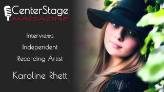 Conversations with Missy: Karoline Rhett @KarolineMusic1