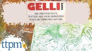 Gelli Arts DIY Stamping & Printing Kit and Supplies from Gelli Arts