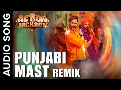 Punjabi Mast (Official Audio Remix) | Action Jackson | Ajay Devgn & Sonakshi Sinha
