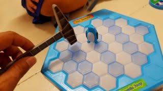 Trò Chơi Vui Đập Chim Cánh Cụt Penguin Trap Ice Breaking Puzzle Kids Toy