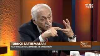 Öteki Gündem 6 Kasım Perşembe 1/3 HABERTURK TV LİSAN MESELESİ - TÜRKÇE TARTIŞMASI
