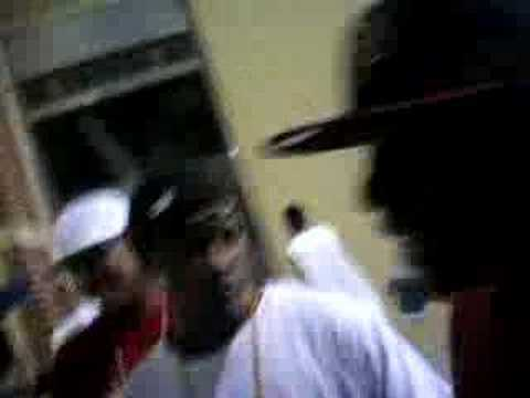 freestyle at the cy woods homecomming game 07.