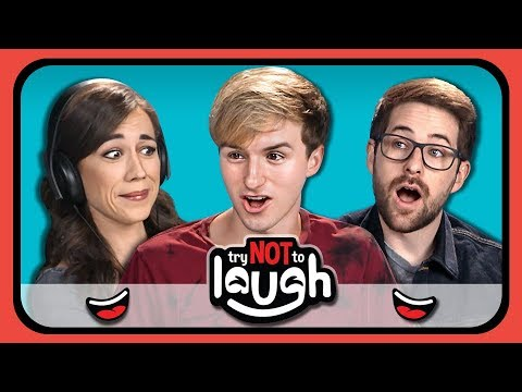 YouTubers React to Try to Watch This Without Laughing or Grinning #17