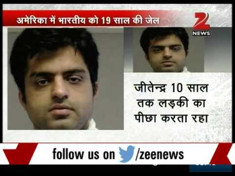 Indian sentenced to 19 years in jail for stalking girl in US for 10 years