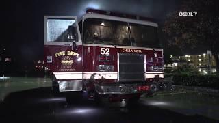 Chula Vista: Fire Engine Crashes on the I 805 01122019