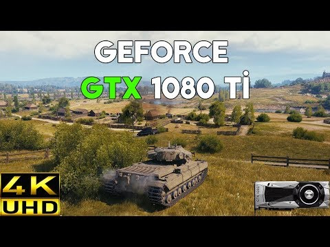 World of Tanks on GTX 1080 Ti (4K UHD Frame Rate Test) + Ultra Graphics
