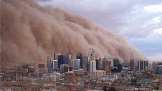 Johannesburg hit by massive sandstorm