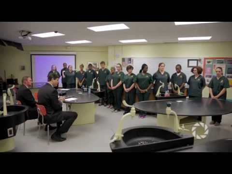 Tennessee Health Commissioner Visits Health Science Academy