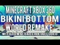 Minecraft Xbox 360: Bikini Bottom Adventure Map w/ Download & Tour