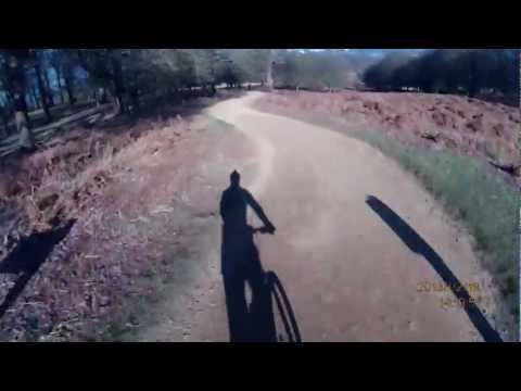 Richmond Park MTB full circuit in 13 mins