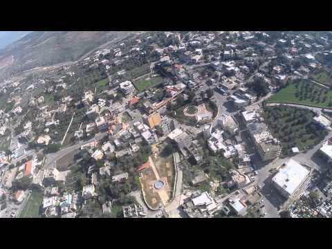 Taibe south lebanon from air beautiful viewing(4).