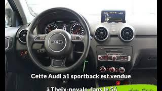 Audi a1 sportback occasion visible à Theix-noyalo présentée par Auto style vannes
