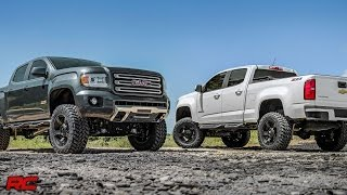 2015-2017 Chevrolet Colorado & GMC Canyon 6-inch Suspension Lift Kit by Rough Country