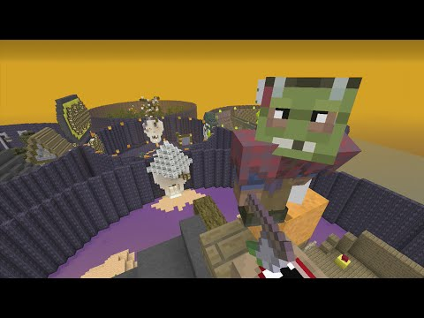 Minecraft Xbox 360 The Halloween Hunger Games