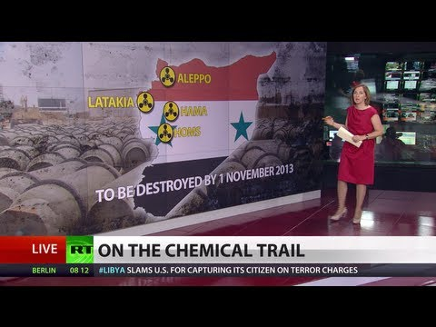 Syria chemical arms destruction begins, rebels unhappy?