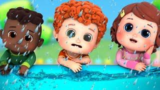 Rain Rain Go Away - 2 | Playing in the Rain | New Baby Songs and Nursery Rhymes | Blue Fish