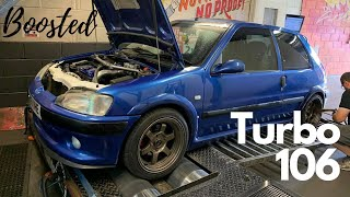 Boosted Peugeot 106 Gti