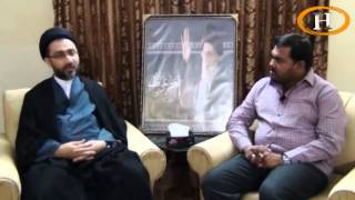 Special Interview with Maulana Shahenshah Hussain Naqvi broadcast on Hidayat TV.