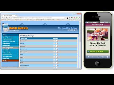 0 Mobile Website Builder | EZ Mobi Pages