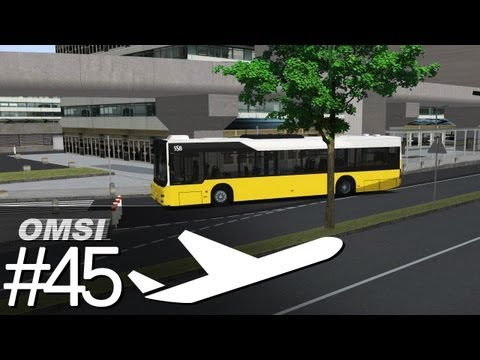 OMSI Strecke: Airport-Ringlinie - Work in Progress [Folge 45] [HD]