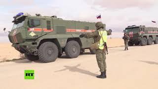 La Policía militar rusa acompaña al convoy de la ONU y la Media Luna Roja a Damasco