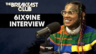 Tekashi 6ix9ine Explains Why He Fired His Team, Recent Shooting & New Album