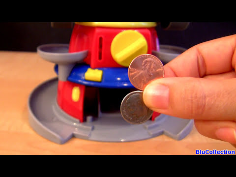 Squinkies Rip Clutchgoneski CARS 2 Disney J. Curby Gremlin Pixar Siddley toys review Blucollection